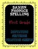 Saxon Phonics Spelling First Grade Dictation Sentences