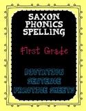 Saxon Phonics Spelling First Grade Dictation Sentences