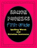 Saxon Phonics Spelling First Grade Practice Sheets
