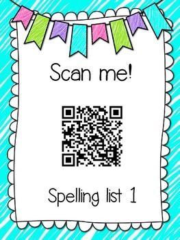 Saxon Phonics Spelling Practice Pages {lists 1-5}