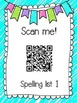 Saxon Phonics Spelling Practice Pages {lists 1-5}