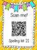 Saxon Phonics Spelling Practice Pages {lists 21-25}