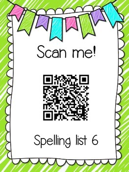 Saxon Phonics Spelling Practice Pages {lists 6-10}