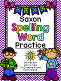 Saxon Phonics Spelling Word Practice {First Grade}
