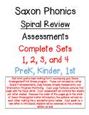 Saxon Phonics Spiral Review Assessments Complete Set