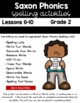 Saxon Phonics Weekly Spelling  Activity Pack Lessons 6-10
