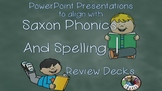 Saxon Phonics and Spelling 1 Review Decks