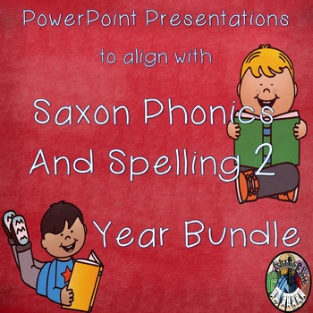 Saxon Phonics and Spelling Grade 2 (Second Grade) Year Lon