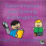 Saxon Phonics and Spelling K -Year Long Bundle