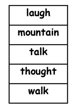 Saxon Set #7 Sight Words