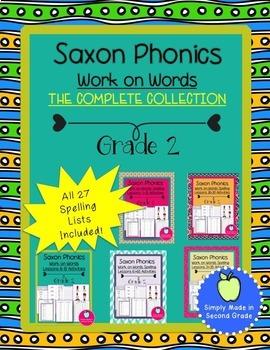 Saxon Spelling  Bundle Second Grade