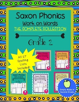 Saxon Spelling  Bundle Second Grade