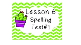 Saxon Spelling Word Cards