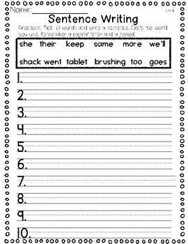 Saxon Word Work List 11