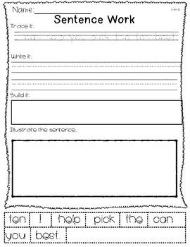Saxon Word Work List 6