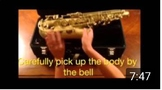 Saxophone Identification and Assembly