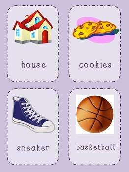 Say 3 Things - Listening & Speaking Game/Center for Grades 1-3
