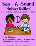 Say-A-Sound /D/ - Holiday Edition!