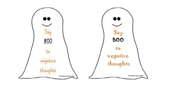 Say Boo to negative thoughts