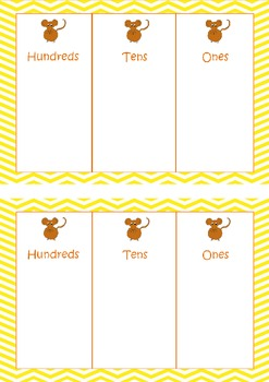 Say Cheese - A Fun Place Value Game