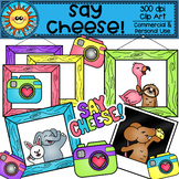 Say Cheese Clip Art