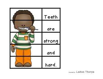 Say Cheese!  Puzzles about Teeth