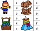 Say & Clip: Identifying Beginning Sounds Clipping Phonics Activity {Color & BW}