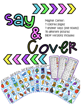Say & Cover