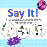"Articulation: Say It!  ""SH"""