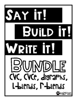 Word Work Mats {The Bundle}