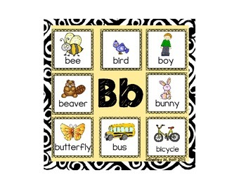 Say It & Clip It: Level One - Beginning Sounds Activity / Game
