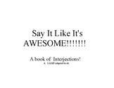 Say It Like It's Awesome! A LAMP adapted book