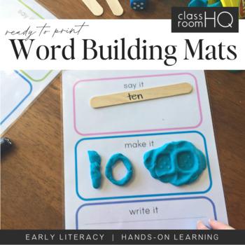 Say It, Make It, Write It Mats
