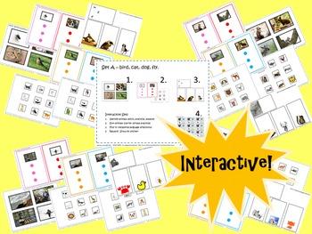"""Speech Practice for Little Learners.  """"Say It, Match It, Find It"""""""