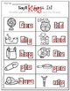 Say It & Spell It! Phonics Printable for Short A & I Sounds