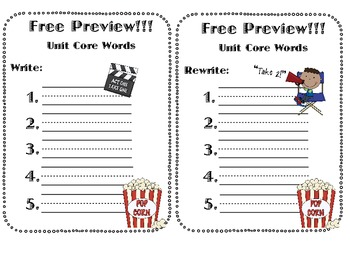 Say It, Spell It, Write It- 135 Words with a Pretest