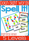Dolch Sight Words Board Game