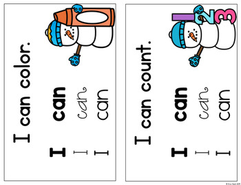 Say It, Think It, Trace It, Write It Sight Word Book: I, Can, Am