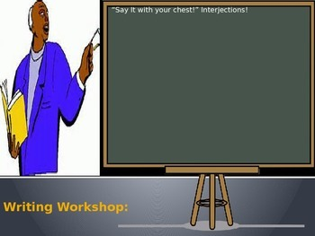 """Say It With Your Chest!  Interjections! Cornell Notes"