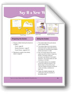 Say It a New Way (File Folder Center)