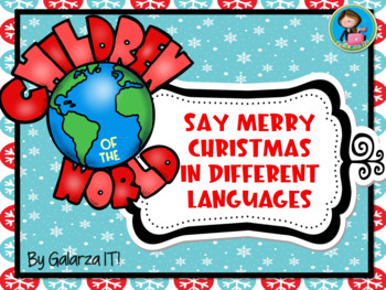 Merry Christmas In Different Languages.Say Merry Christmas In Different Languages