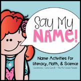 Name Activities