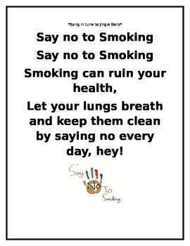 """Say No To Smoking"" Poster"