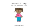 "Say ""No"" to Drugs (A Red Ribbon PowerPoint Presentation)"
