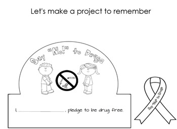 "Say ""No!"" to Drugs (A Red Ribbon Week SMARTNotebook Unit)"