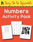 Say Sí to Spanish: Numbers Activity Pack