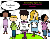 Say Something Clip Art Pack