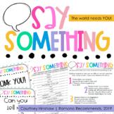 Say Something! Keeping Kids Talking