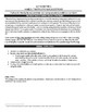 Say Something - Overview and Worksheet