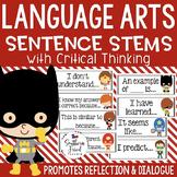 Critical Thinking Stems - Editable